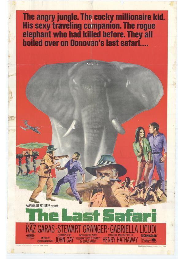 le dernier safari affiche