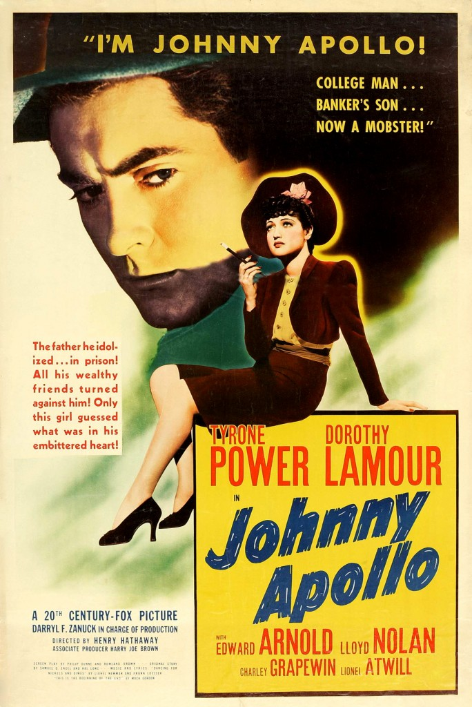 Johnny Apollo affiche