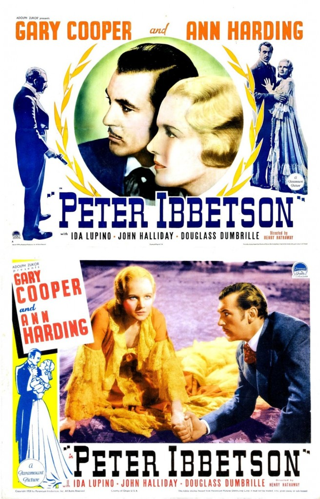 Peter Ibbetson affiche