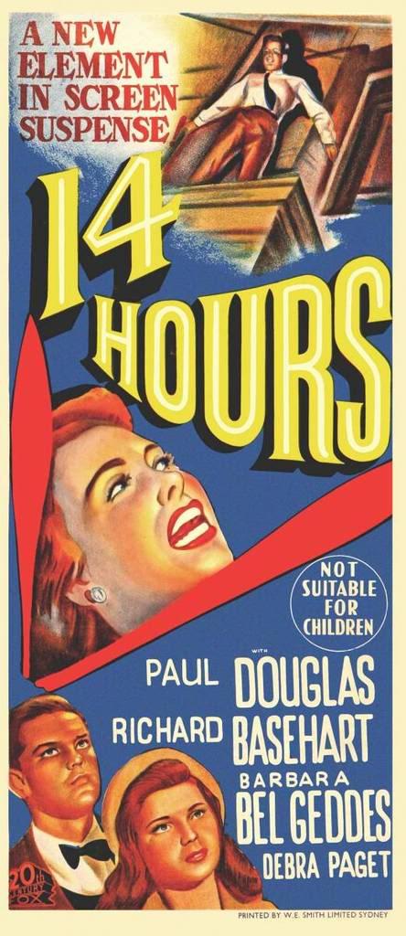 Quatorze heures affiche