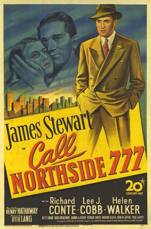 Appellez Nord 777 affiche
