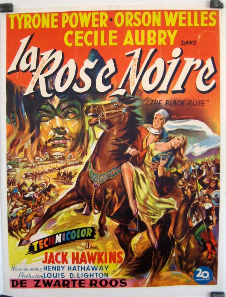 La rose noire affiche