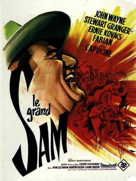Le grand sam affiche