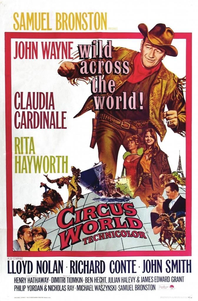 Le plus grand cirque du monde affiche
