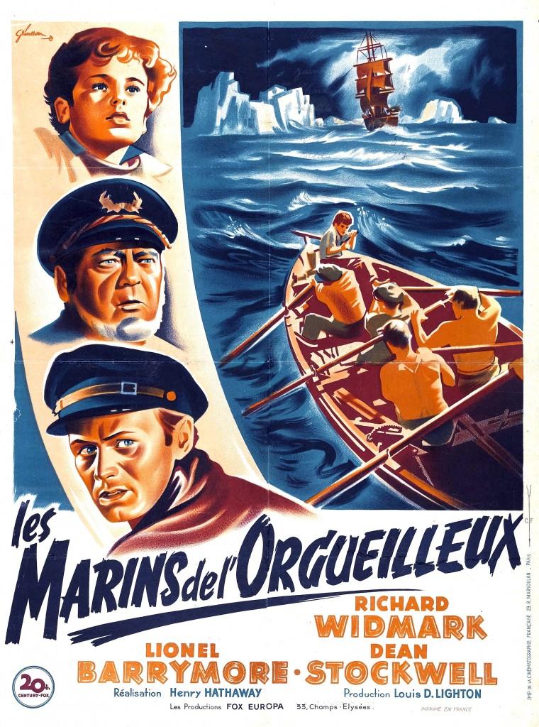 Les marins de l'orgueilleux affiche