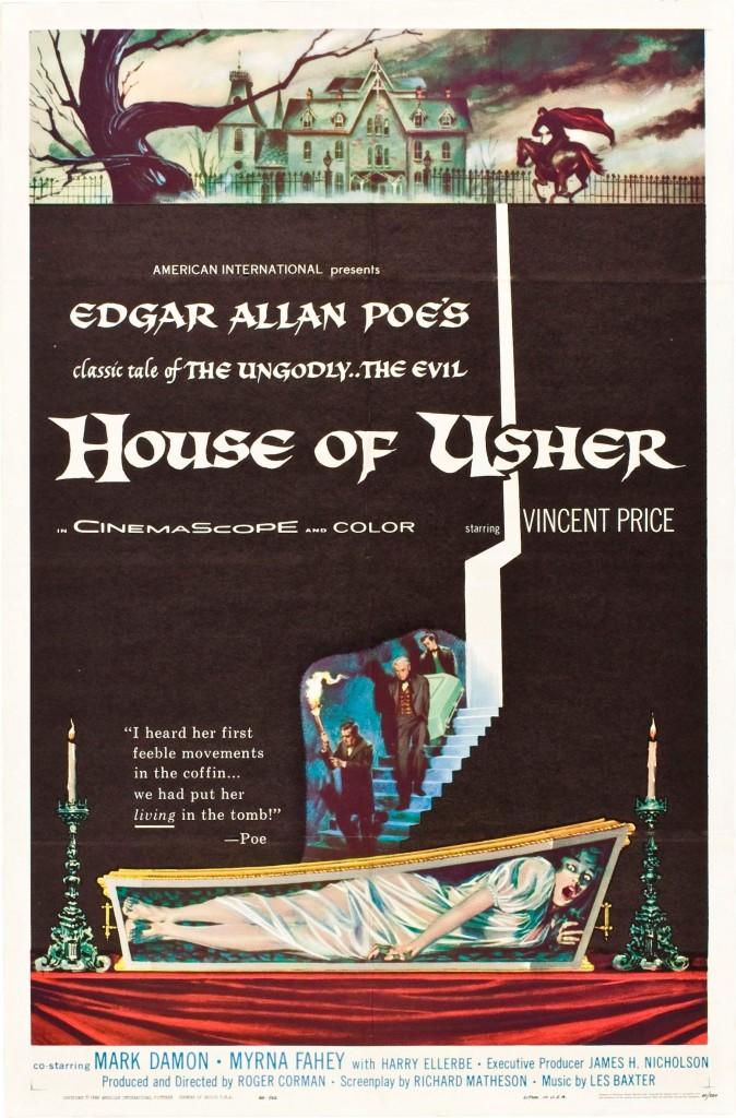 La chute de la maison Usher affiche