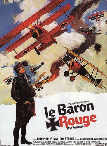Le baron rouge affiche